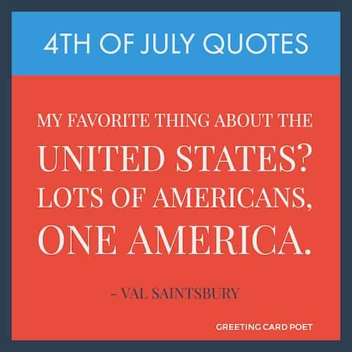 Happy 4th July quote image