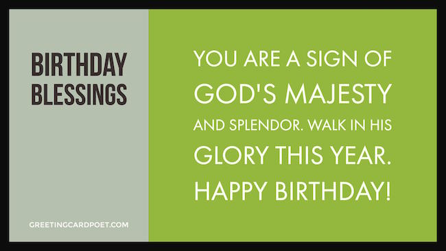 Birthday Blessings image