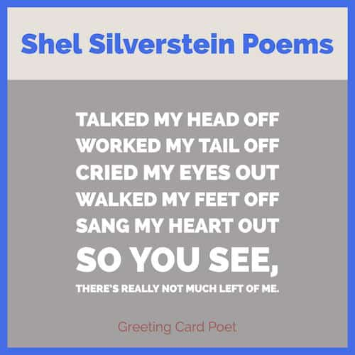 Famous Shel Silverstein Quotes and Poems | The Giving Tree