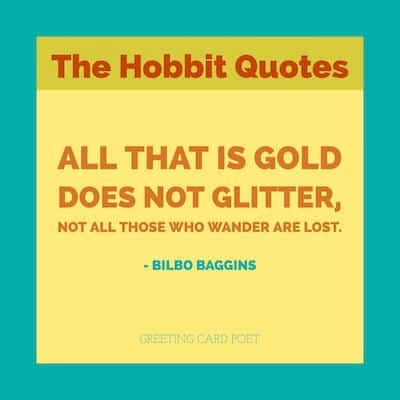 Best Hobbit Quotes Image
