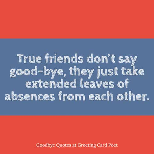 quotes about goodbyes image