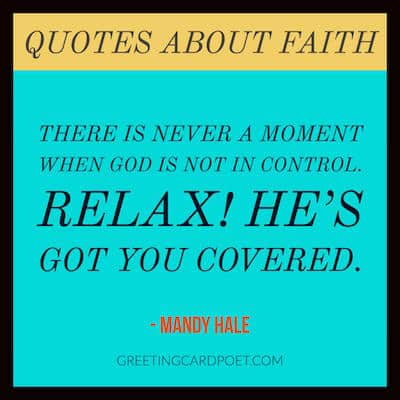 faith in God quote image