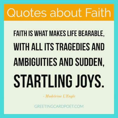 Quotes about faith and startling joys image
