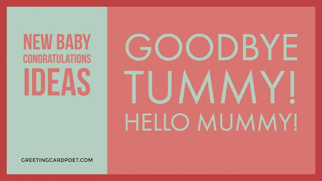 new baby congratulations messages image