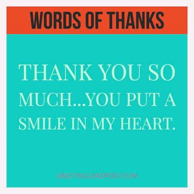 how to say thank you image
