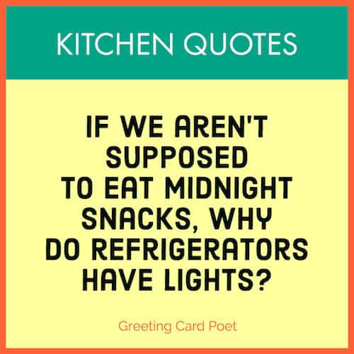 Good Kitchen Quotes And Chef Sayings Greeting Card Poet