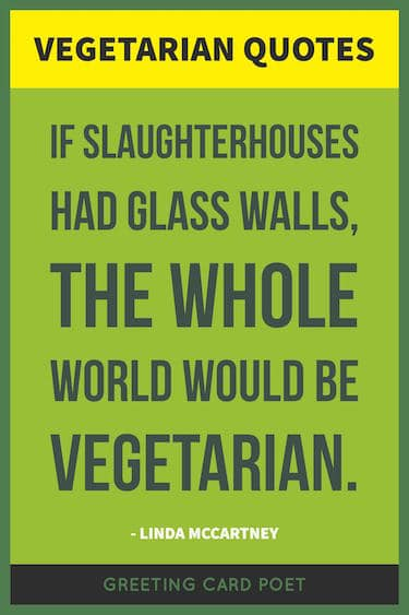 Lynda McCartney vegetarian quote image