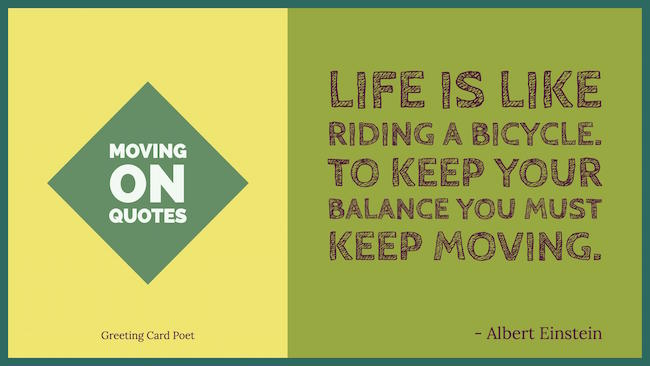 Moving On quotes image