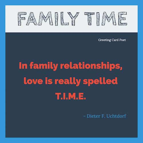 Image of: Hard Family Time Quotes Image Greeting Card Poet Family Time Quotes To Reflect On And Share Greeting Card Poet