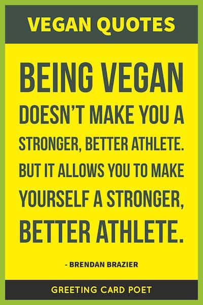 Vegan Quotes And Vegetarian Sayings Greeting Card Poet Fascinating Vegan Quotes