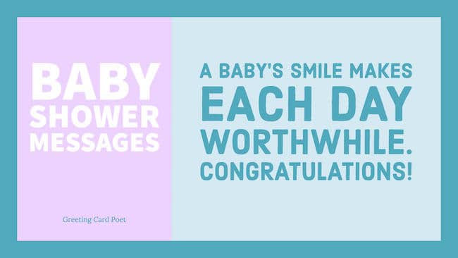 Baby Shower Wishes Image