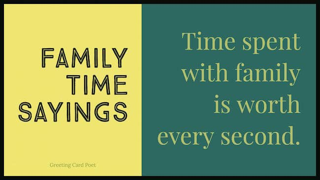 quotes about family time image