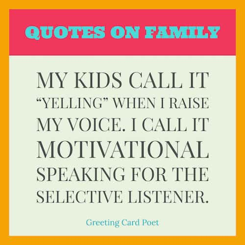 family sayings image
