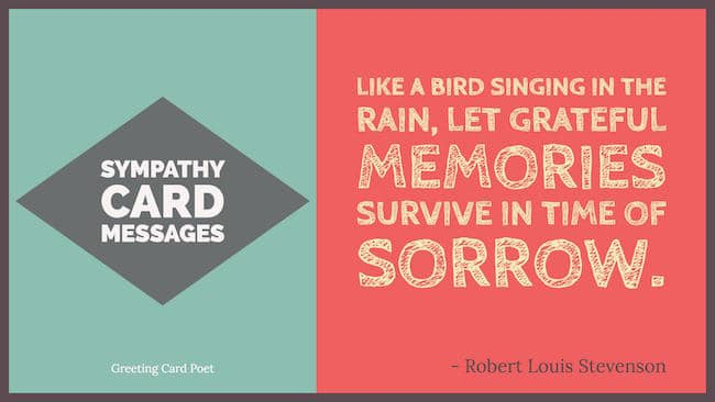 Sympathy card messages for loss greeting card poet sympathy card messages image m4hsunfo