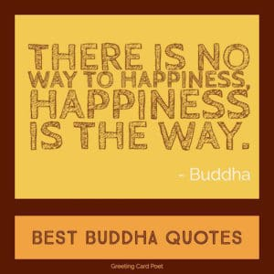 Buddha Quotes On Life Love And Happiness Greeting Card Poet