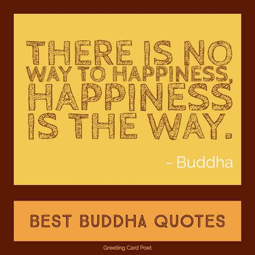 Buddha quote on Happiness image