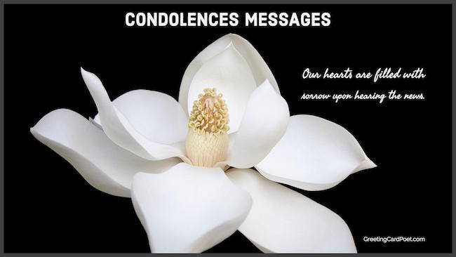 Condolence messages image