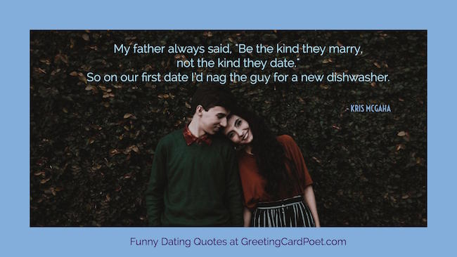 Cliche dating sayings