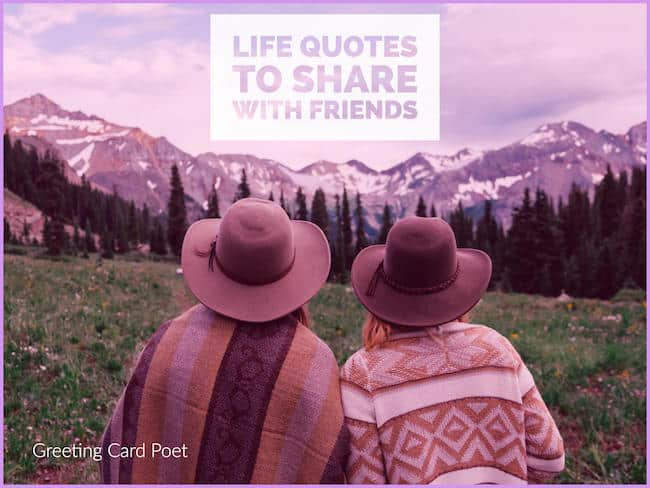 Life quotes to share with Friends image