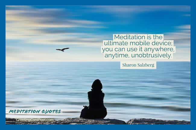 Meditation Quotes image