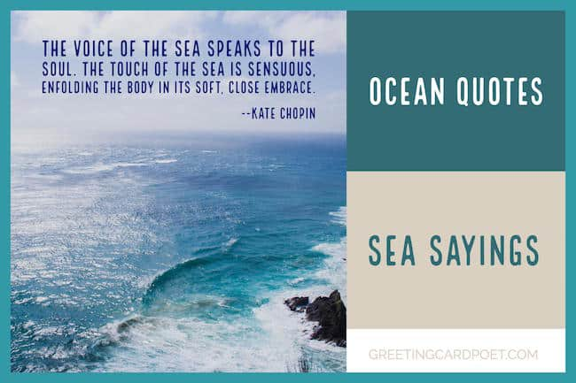 sea sayings and ocean quotes image