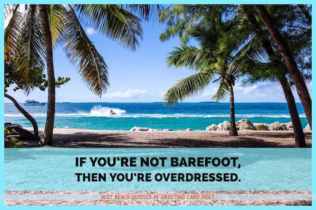 best beach quotes image