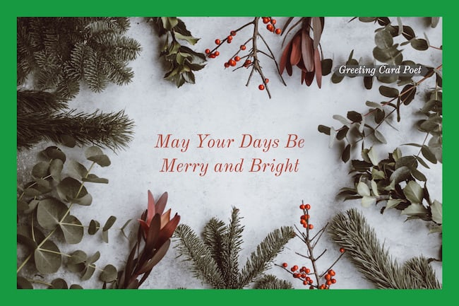 May Your Days Be Merry and Bright image