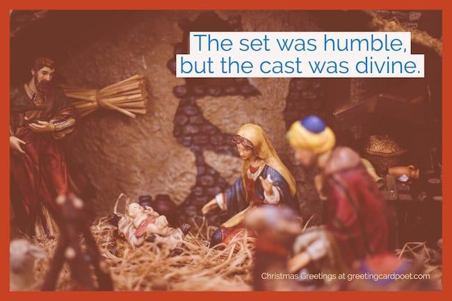 Nativity Saying image
