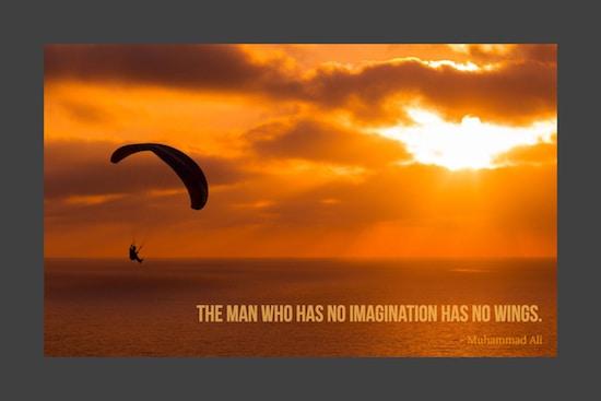 Ali short inspirational quote image