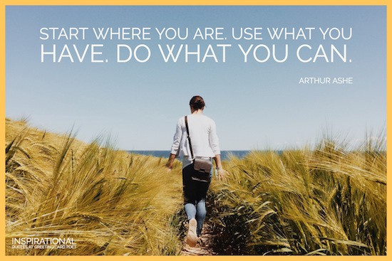 Arthur Ashe words of wisdom image