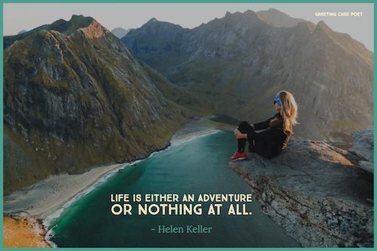 Daring adventure Helen Keller
