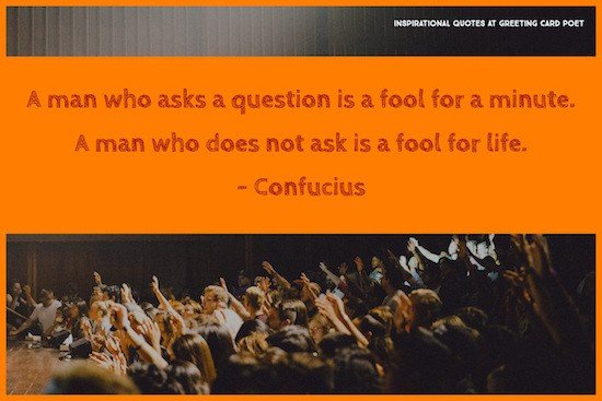 confucius on question asking image