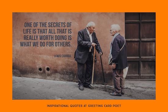 secrets of life quotation