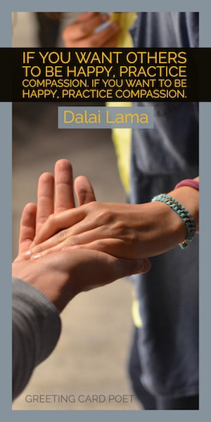 Dalai Lama quote on compassion