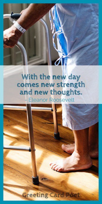 Eleanor Roosevelt new day quote