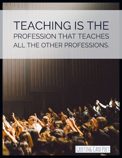 importance of teaching image