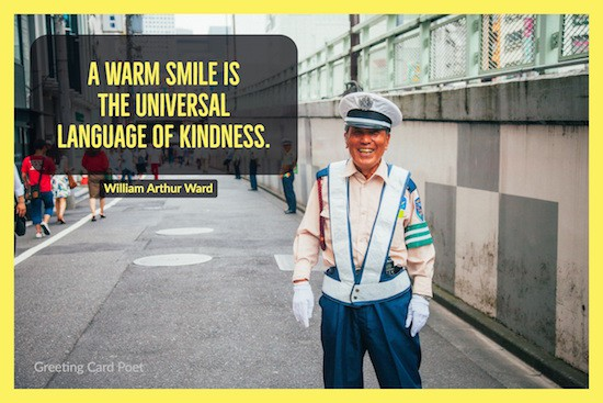 smile universal language of kindness image