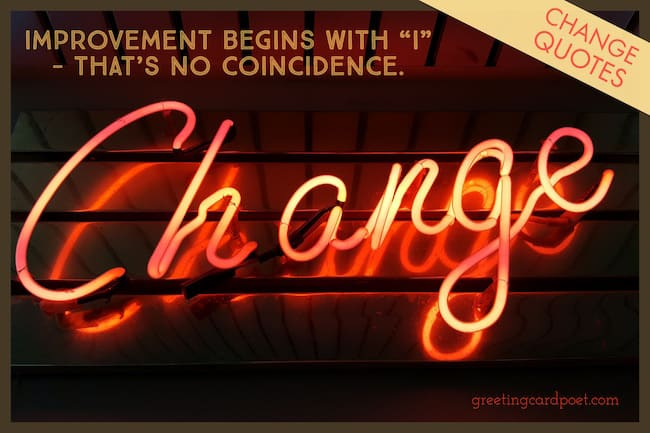 Quotes about Change image