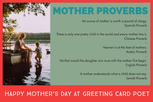 Proverbs for Mothers image