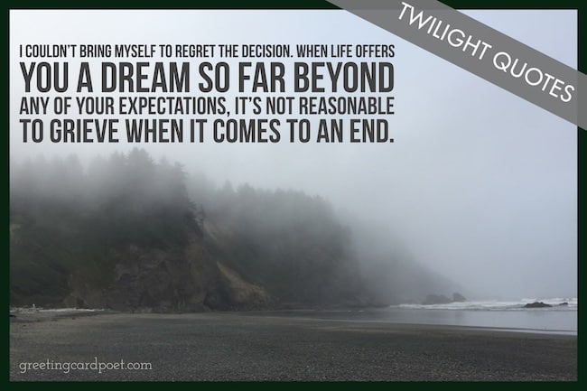 Twilight quotes image