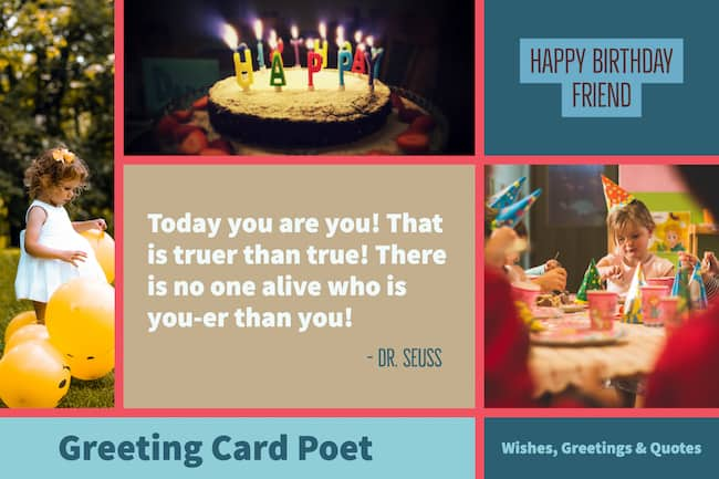 Dr. Seuss Birthday Quotation image