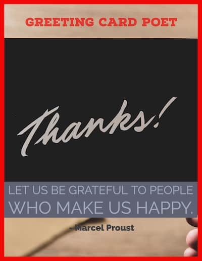 Marcel Proust grateful quote image