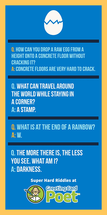 Difficult riddles for kids image