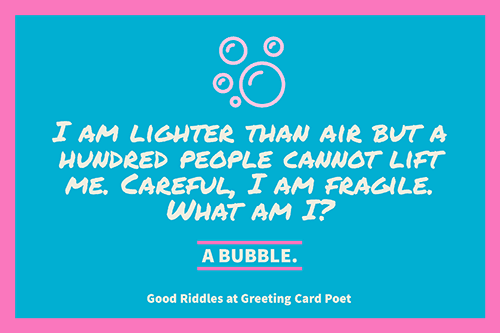 Good Riddles With Answers To Stump Your Friends Greeting Card Poet