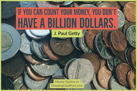 J. Paul Getty quote image