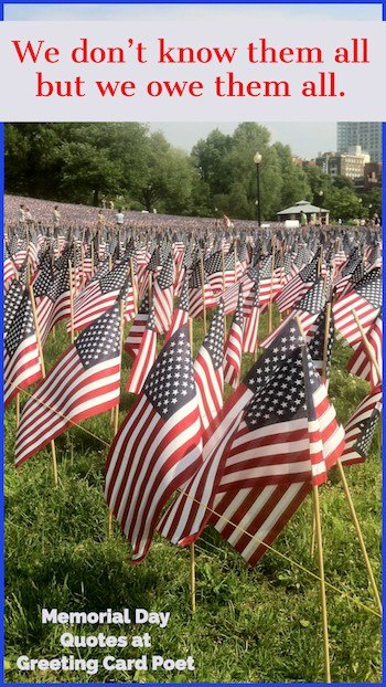 Sayings for Memorial Day image