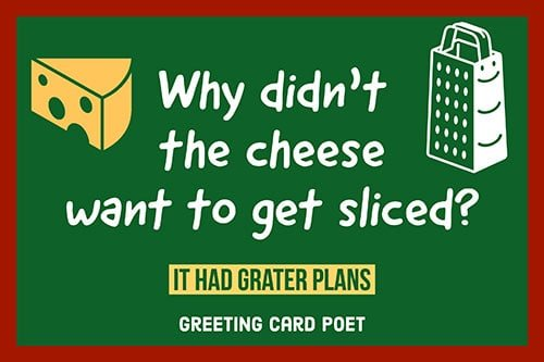 Punny Cheese jokes image