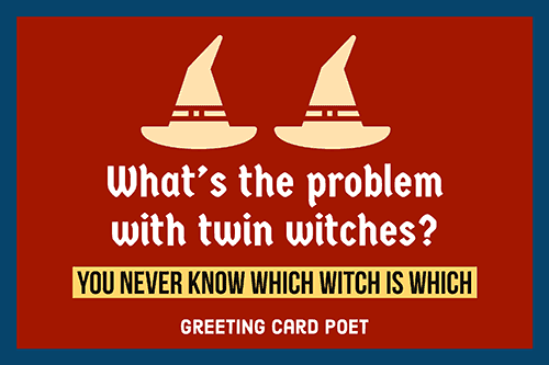 Joke on witches image