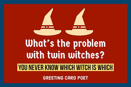 Joke on witches image