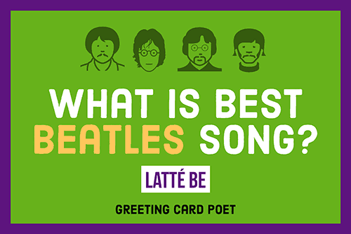 The Beatles and Coffee meme